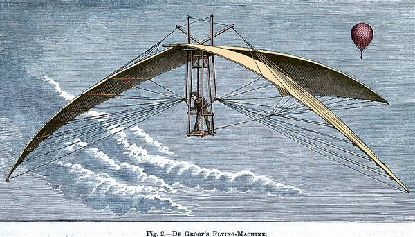 Wall Art - Photograph - De Groof's Flying Machine by Sheila Terry/science Photo Library