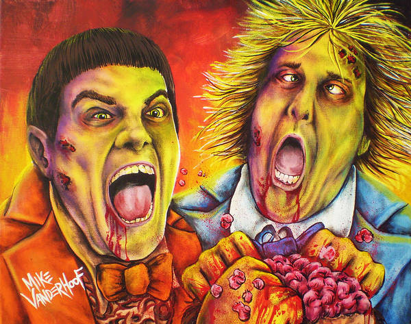 Jim Carrey Painting - Dead And Deader By Mike Vanderhoof by Michael Vanderhoof