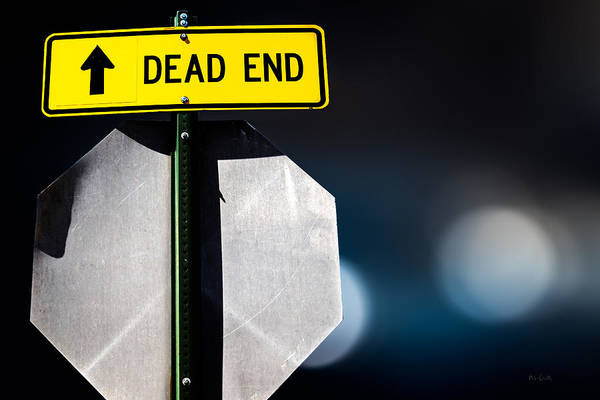 Photograph - Dead End by Bob Orsillo