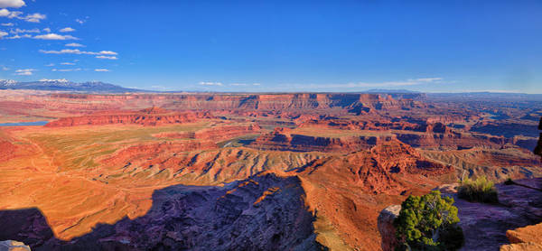 Photograph - Dead Horse Point Afternoon Panorama by Greg Norrell