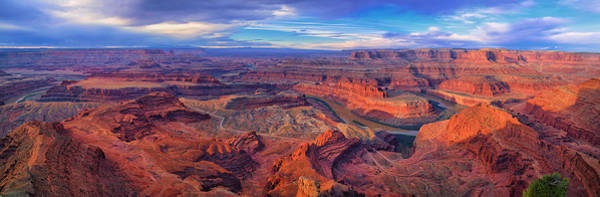 Photograph - Dead Horse Point Panorama by Greg Norrell