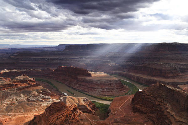 Photograph - Dead Horse Point Sunbreak by Wes and Dotty Weber