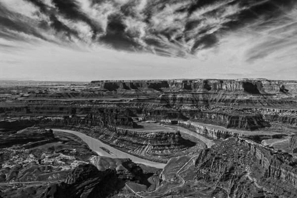 Photograph - Dead Horse Point Sundown by Wes and Dotty Weber