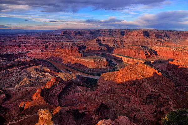 Art Print featuring the photograph Dead Horse Point Sunrise by Greg Norrell