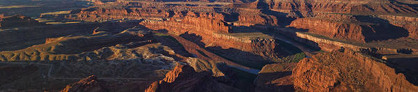 Photograph - Dead Horse Point Sunrise Panorama by Mark Kiver