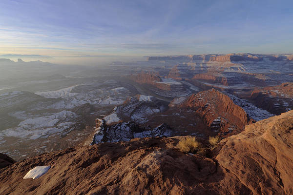 West Point Photograph - Deadhorse Point by Chad Dutson