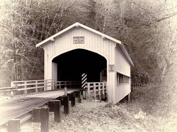 Deadwood Covered Bridge Art Print