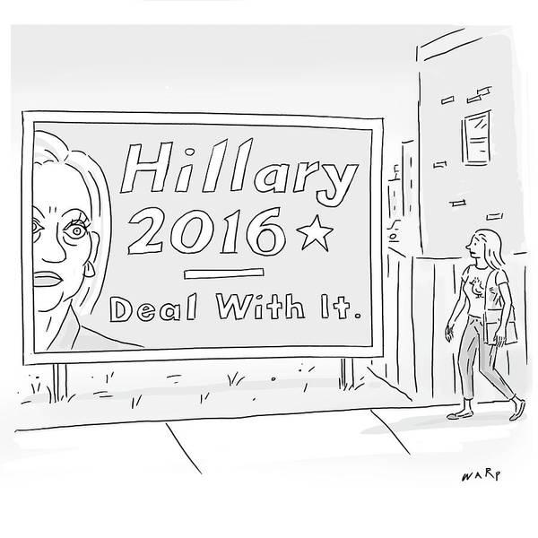 Billboard Drawing - Deal by Kim Warp