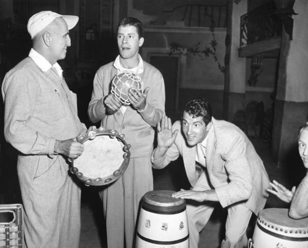 Dean Martin Photograph - Dean Martin & Jerry Lewis by Underwood Archives