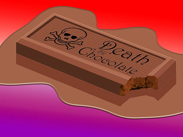 Chocolate Wall Art - Digital Art - Death By Chocolate by Greg Joens