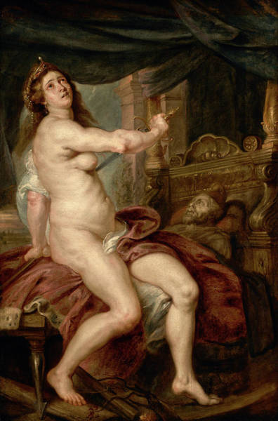 Wall Art - Painting - Death Of Dido, C1640 by Granger