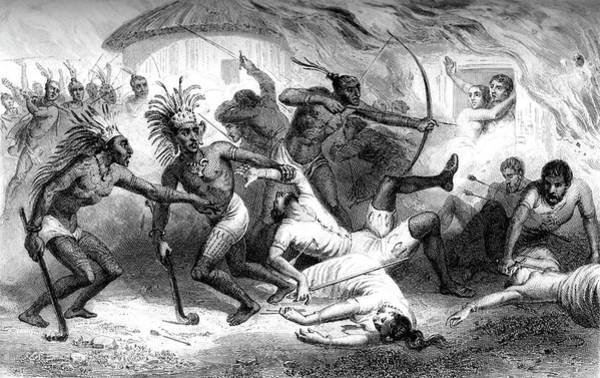 1889 Photograph - Death Of Diego Arana by Collection Abecasis/science Photo Library