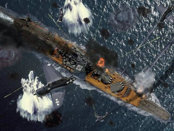 Suicide Digital Art - Death Of The Yamato by Mil Merchant