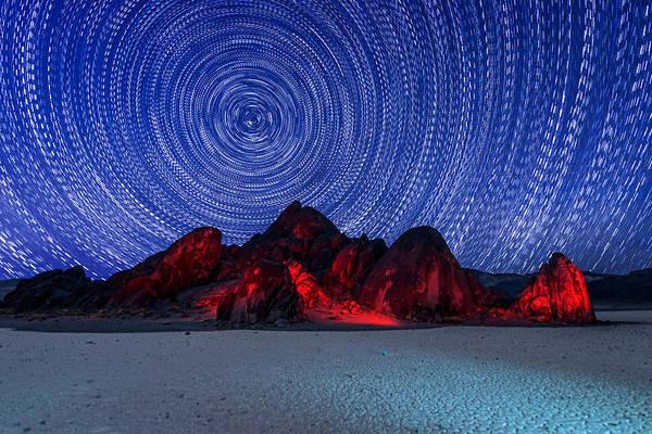 Racetrack Playa Photograph - Death Star by Dustin  LeFevre