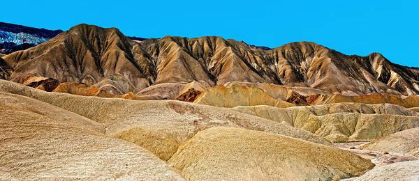 Photograph - Death Valley Badlands by Tomasz Dziubinski