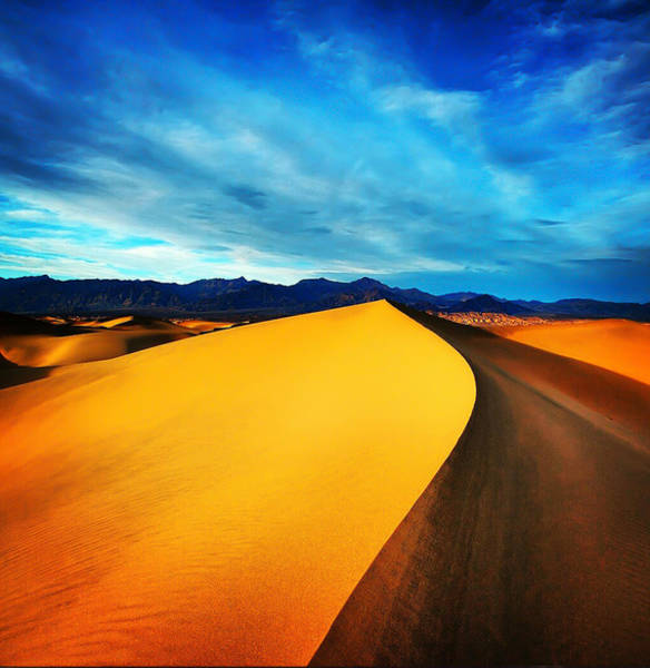 Iphoneography Wall Art - Photograph - Death Valley by Darren  White