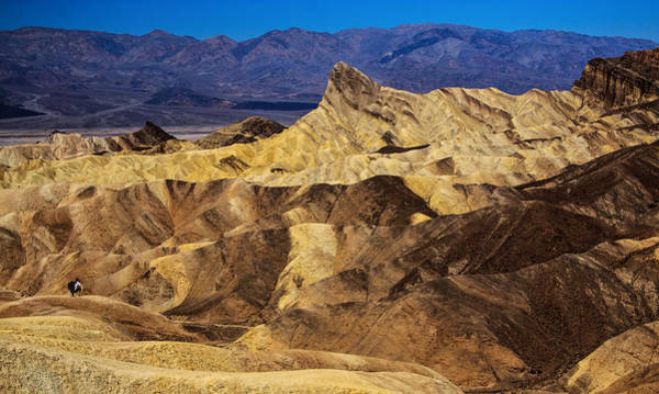 Photograph - Death Valley From Zabrinski Point by Levin Rodriguez