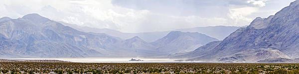Racetrack Playa Photograph - Death Valley Racetrack, Death Valley by Panoramic Images