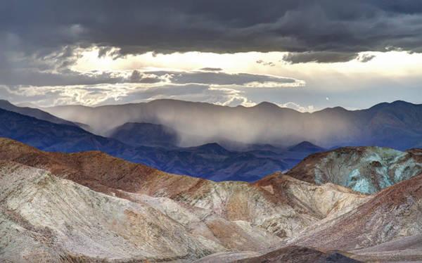 Photograph - Death Valley Sunset Landscape by Pierre Leclerc Photography