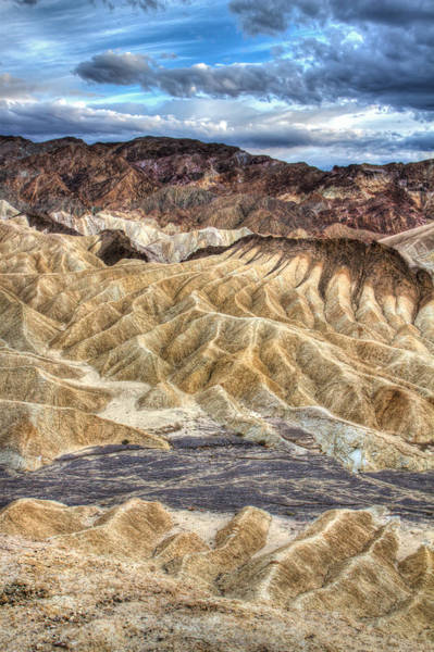 Photograph - Death Valley Zabriskie Point by Pierre Leclerc Photography