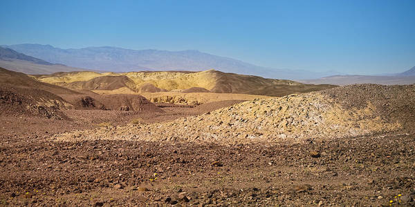 Photograph - Death Valley Panoramic by Lutz Baar