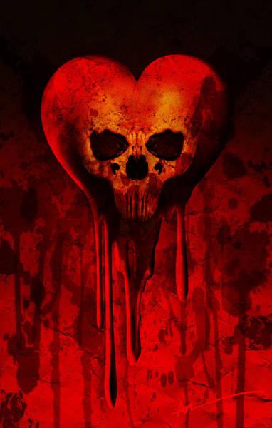 Heartbroken Digital Art - Deathlove by AM Santos
