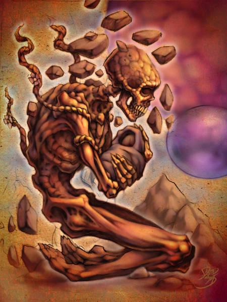 Wall Art - Digital Art - Death's Child by David Bollt