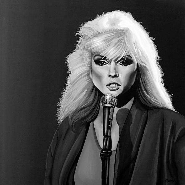 Blondie Wall Art - Mixed Media - Debbie Harry by Meijering Manupix