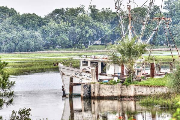 Photograph - Debby John Shrimp Boat by Scott Hansen