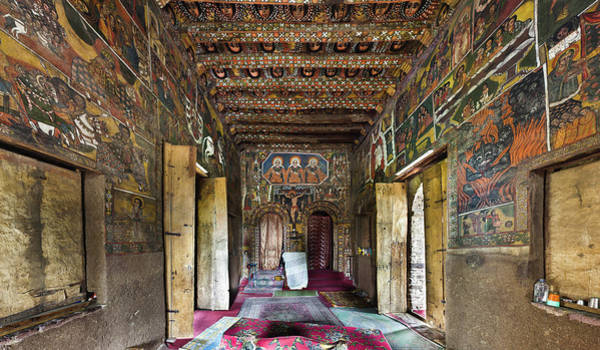 New Testament Photograph - Debre Berhan Selassie Church In Gonder by Martin Zwick