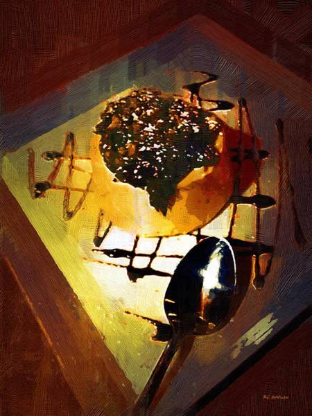 Painting - Decadence On A Plate by RC DeWinter