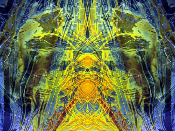 Decalcomaniac Intersection 1 Art Print
