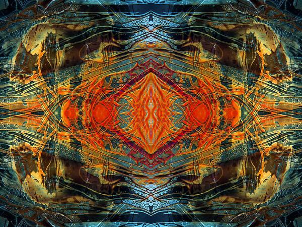 Decalcomaniac Intersection 2 Art Print