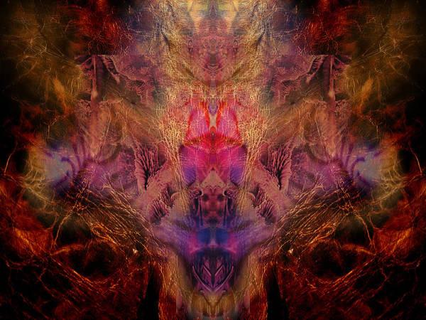 Decalcomaniac Mirror Art Print