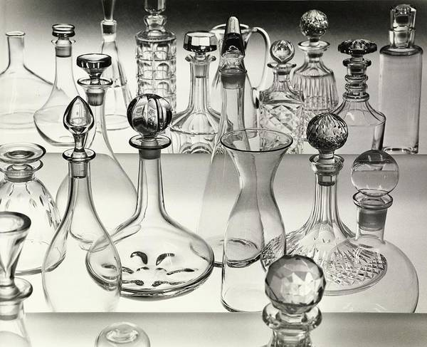 Wall Art - Photograph - Decanters by Bill Helms