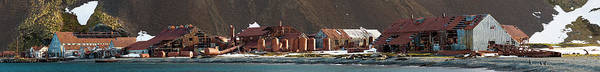 Atlantic Station Photograph - Decaying Whaling Station On The Beach by Panoramic Images