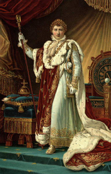Crown Imperial Painting - December 2 1804 Napoleon I Coronation by Vintage Images