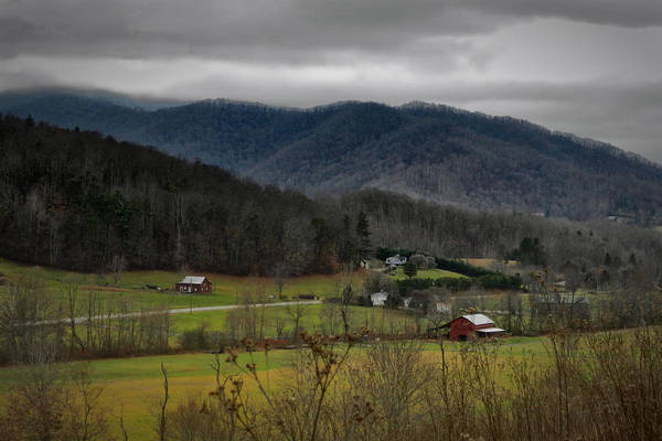 Photograph - December On The Farm by Ben Shields