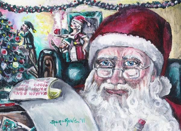 Deadline Painting - December by Shana Rowe Jackson