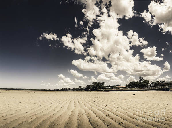 Low Tides Photograph - Deception Bay Beach Landscape by Jorgo Photography - Wall Art Gallery