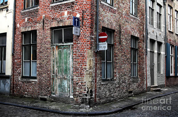 Wall Art - Photograph - Decisions In Bruges by John Rizzuto