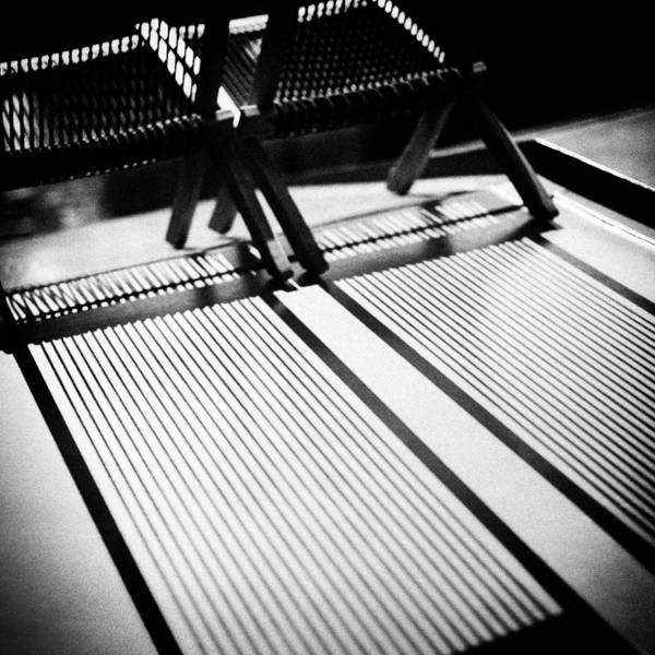 Photograph - Deck-chairs by Dave Bowman