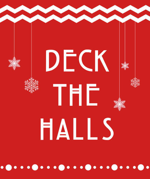 Ugly Painting - Deck The Halls by Anna Quach