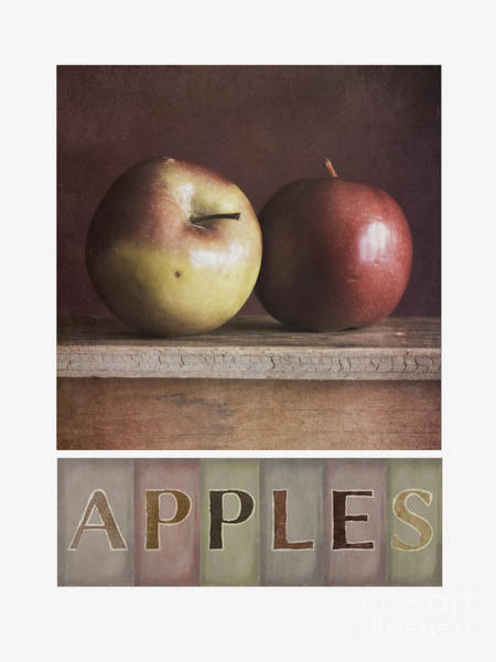 Wall Art - Photograph - Deco Apples by Priska Wettstein