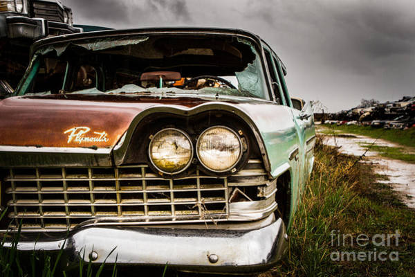 Wrecking Yard Photograph - Decomposition by Mark Brooks