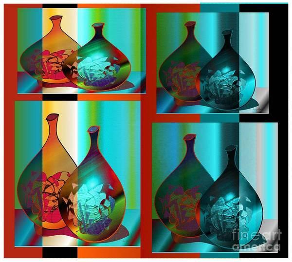 Jug Digital Art - Decor 2 by Iris Gelbart