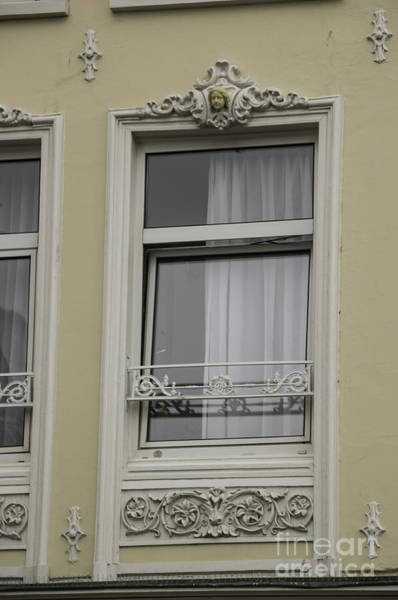 Wall Art - Photograph - Decorative Window Amsterdam by Teresa Mucha