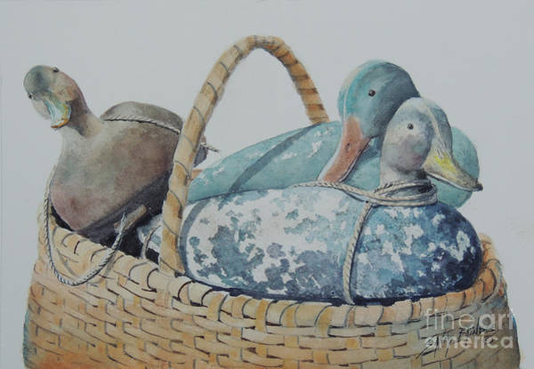 Painting - Decoys by Sandy Brindle