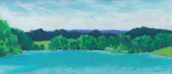 Pastel - Deep Breath by Anne Katzeff