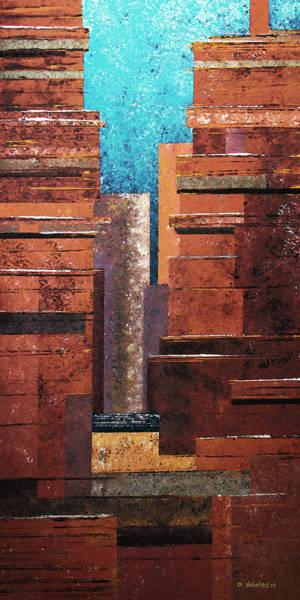 Painting - Deep Canyons by David Hansen